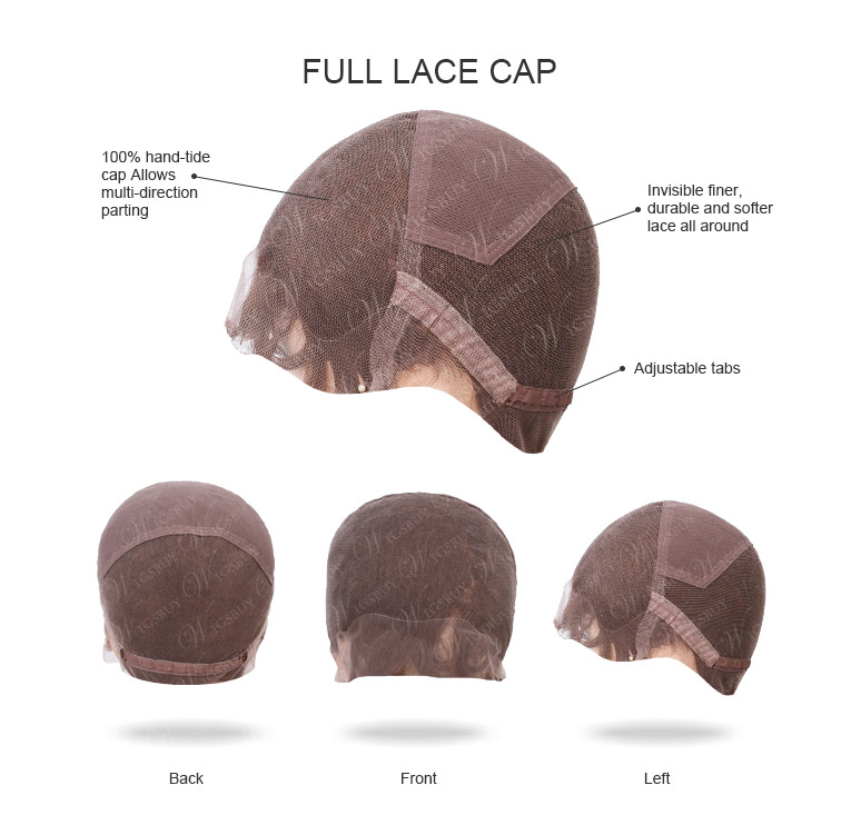 Full Lace Cap Big