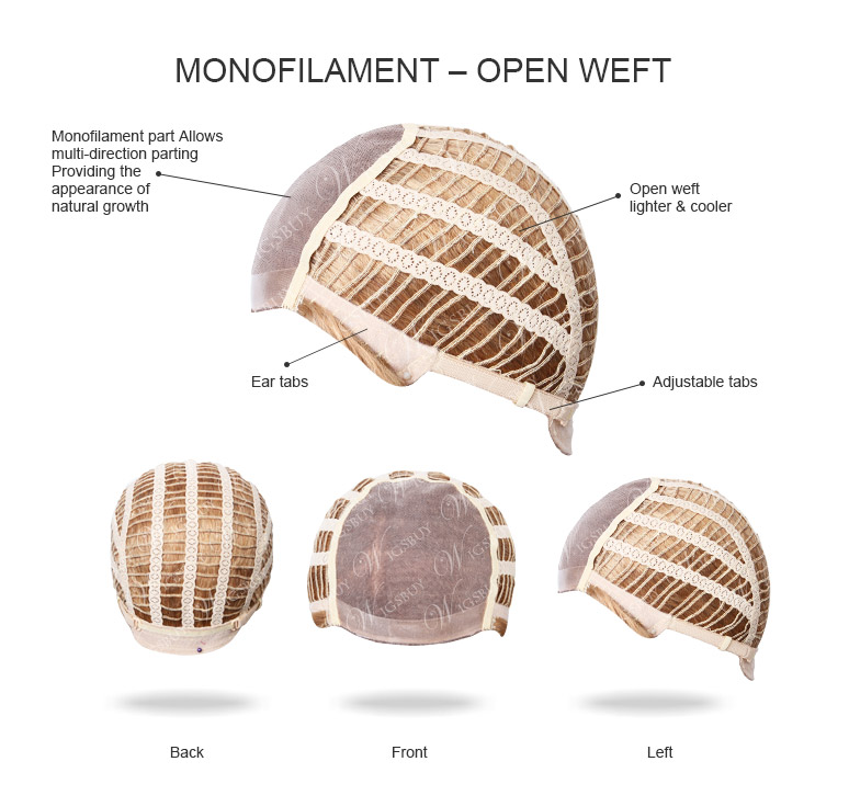 Monofilament Open Weft